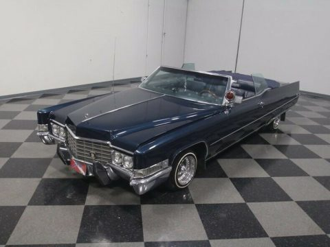 loaded 1969 Cadillac Deville Convertible for sale