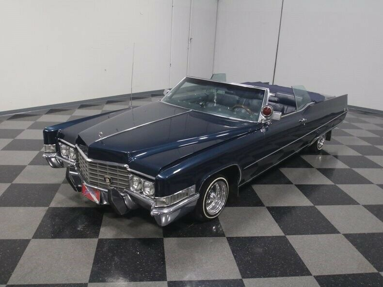 loaded 1969 Cadillac Deville Convertible