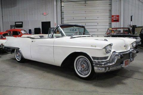 low miles 1957 Cadillac Eldorado Convertible for sale