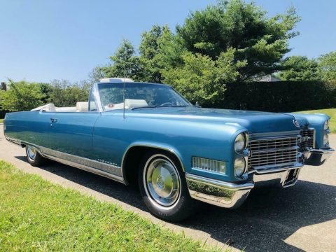 low miles 1966 Cadillac Eldorado Convertible for sale