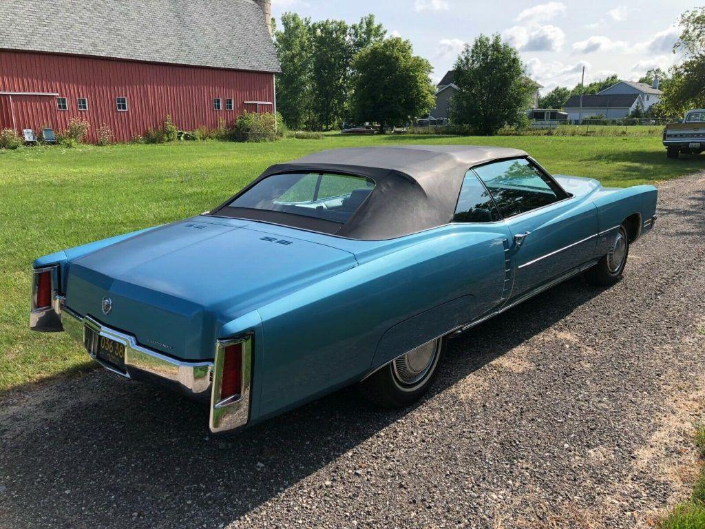 low miles 1971 Cadillac Eldorado convertible
