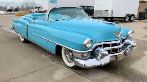 new interior 1953 Cadillac Eldorado Convertible for sale