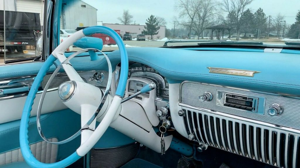 new interior 1953 Cadillac Eldorado Convertible
