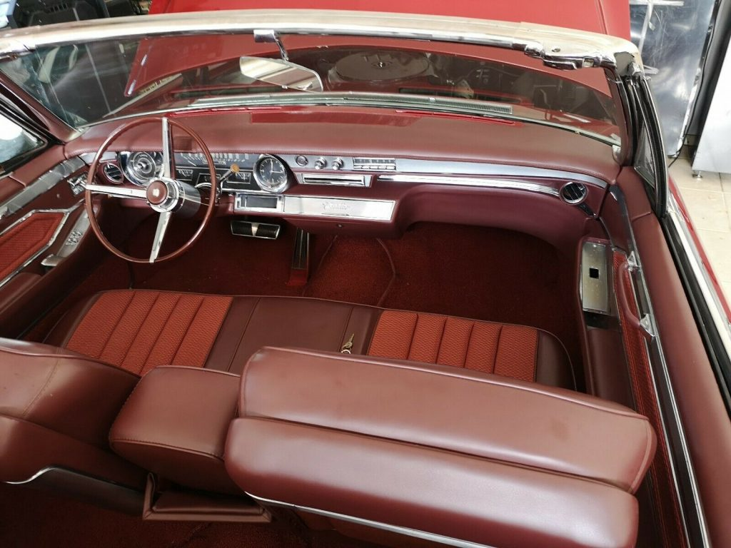 new interior and roof 1965 Cadillac DeVille Convertible