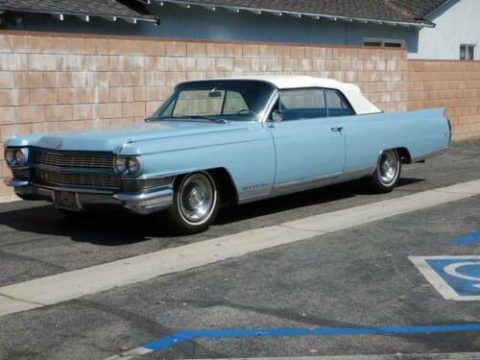 older repaint 1964 Cadillac Eldorado Convertible for sale