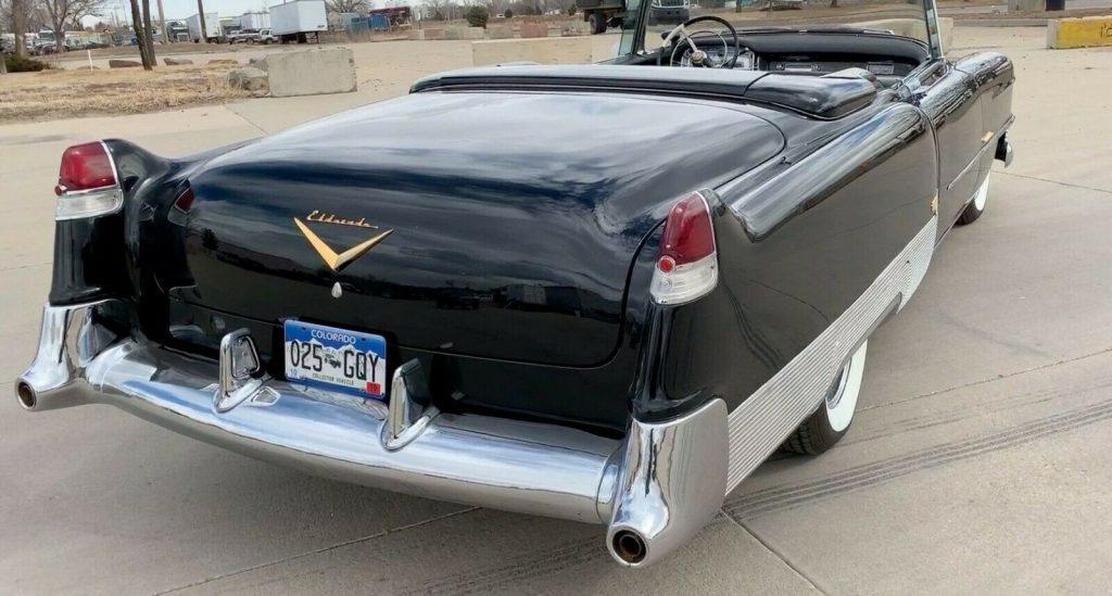 restored 1954 Cadillac Eldorado Convertible