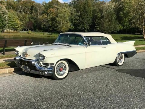 sharp 1957 Cadillac Eldorado Biarritz Convertible for sale