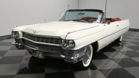 very nice 1964 Cadillac Deville Convertible for sale
