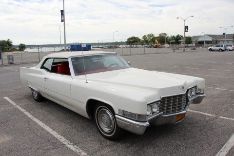 very nice 1969 Cadillac DeVille Convertible for sale