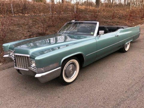 very nice 1970 Cadillac Deville Convertible for sale
