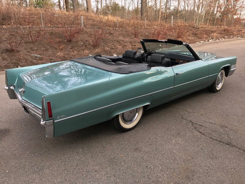 very nice 1970 Cadillac Deville Convertible