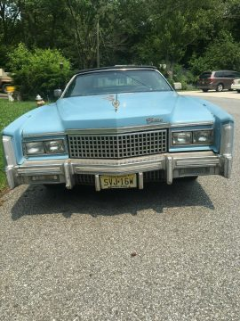 all original 1975 Cadillac Eldorado Convertible for sale