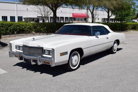 Bicentennial 1976 Cadillac Eldorado Convertible for sale
