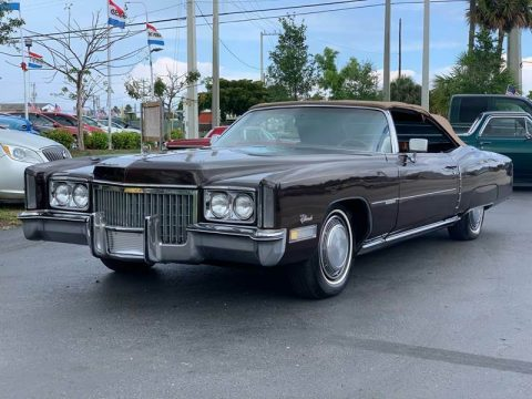 Classic 1972 Cadillac Eldorado Convertible for sale