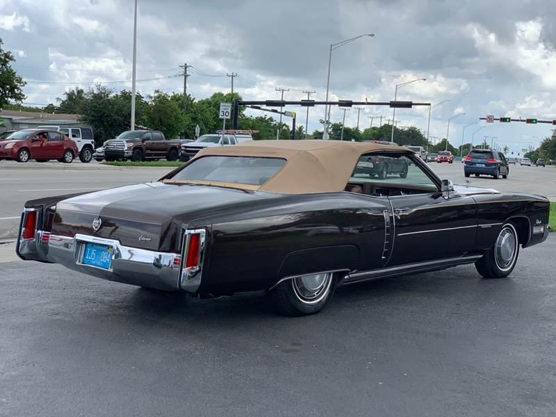 Classic 1972 Cadillac Eldorado Convertible