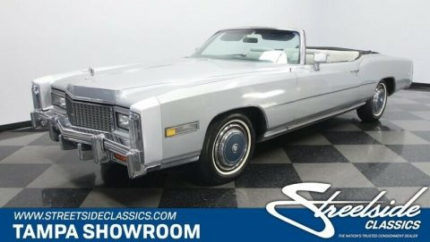 clean 1976 Cadillac Eldorado Convertible for sale