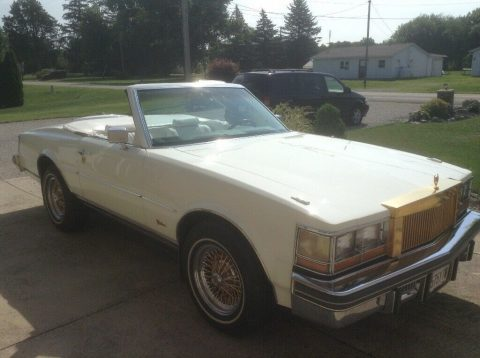 custom 1978 Cadillac Seville Milan convertible for sale