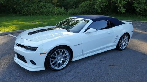 low miles 2014 Chevrolet Camaro SEMA Spring Special Edition Convertible for sale