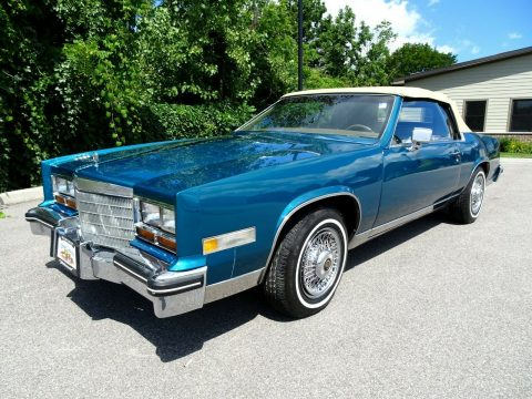 renewed 1981 Cadillac Eldorado Custom Cabriolet convertible for sale