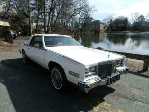 very nice 1984 Cadillac Eldorado Biarritz for sale