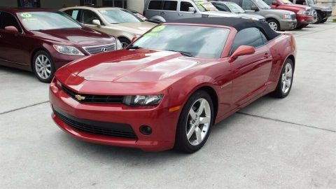 very nice 2015 Chevrolet Camaro LT Convertible for sale