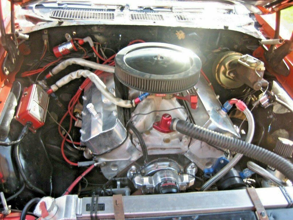big block 1972 Pontiac Le Mans Convertible