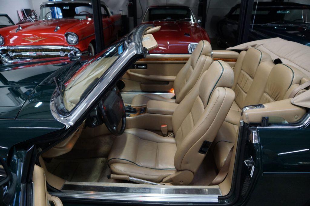 classic 1994 Jaguar XJS 6.0L V12 Convertible