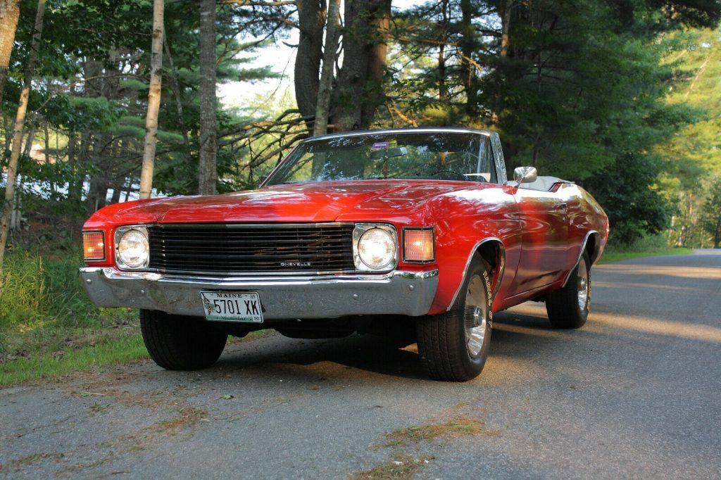 excellent shape 1972 Chevrolet Chevelle Convertible