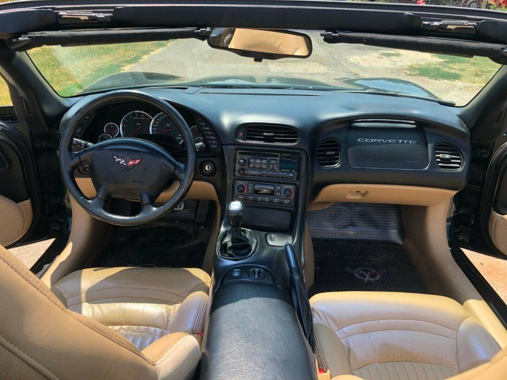 excellent shape 2000 Chevrolet Corvette convertible