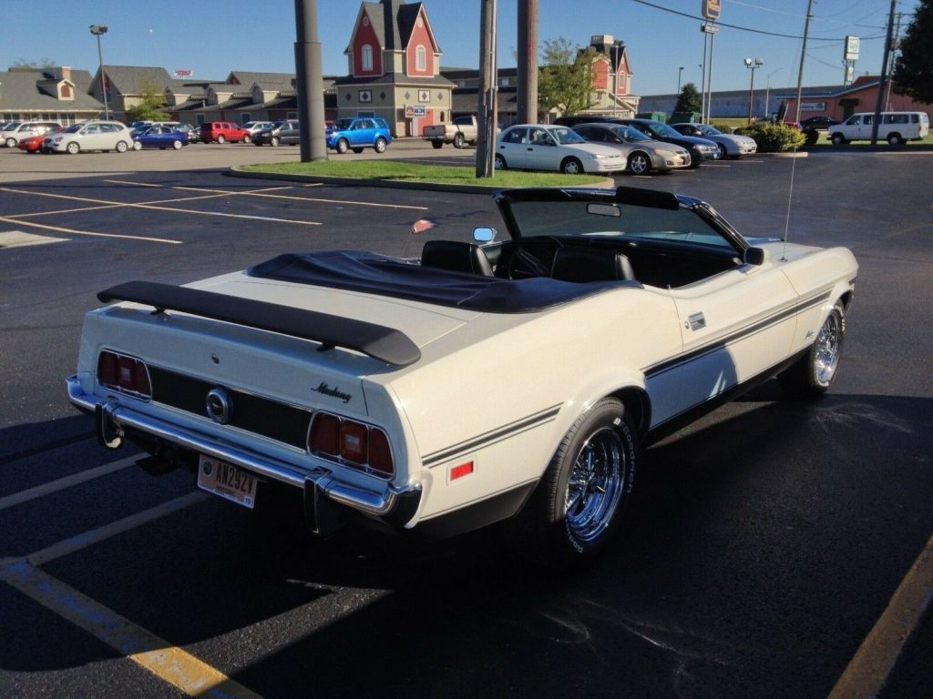 fully restored 1973 Ford Mustang Convertible