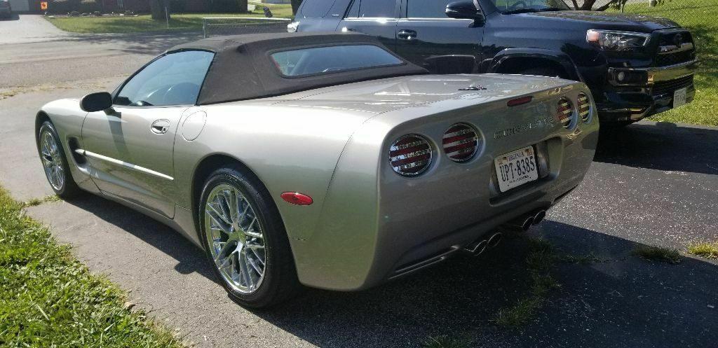 great running 2000 Chevrolet Corvette convertible