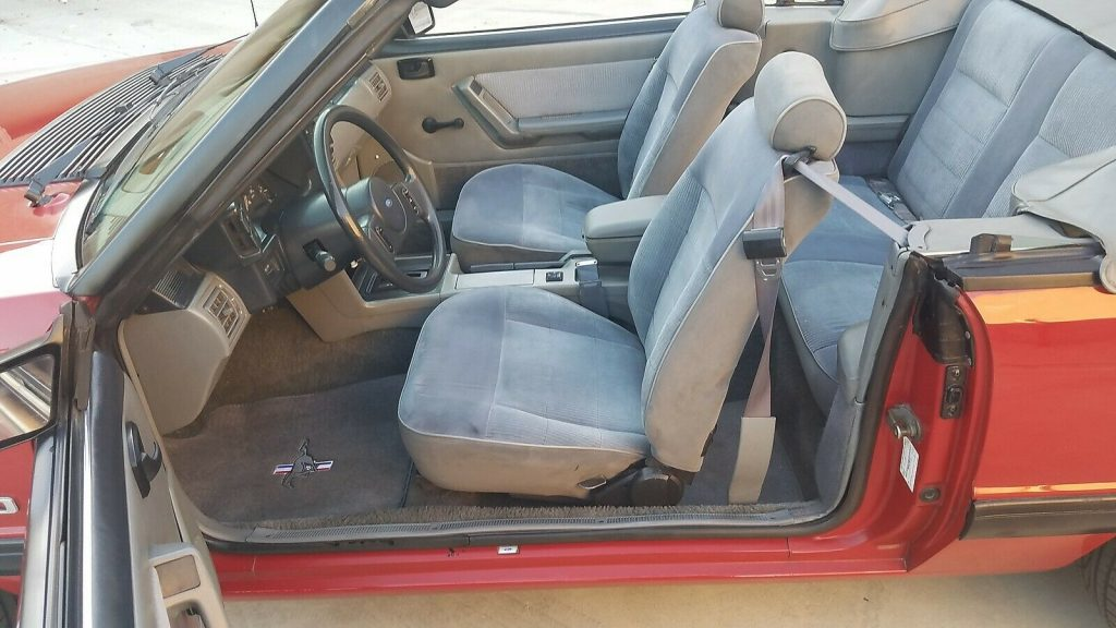 Immaculate Original Paint 1987 Ford Mustang Convertible