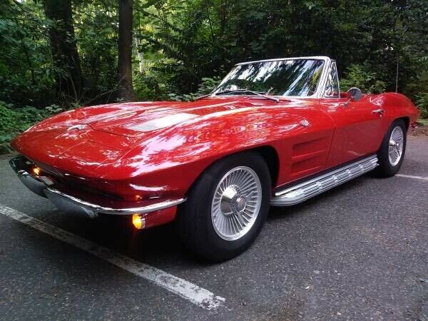 low miles 1963 Chevrolet Corvette Convertible for sale