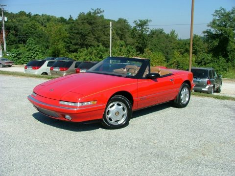 low miles 1990 Buick Reatta Convertible for sale