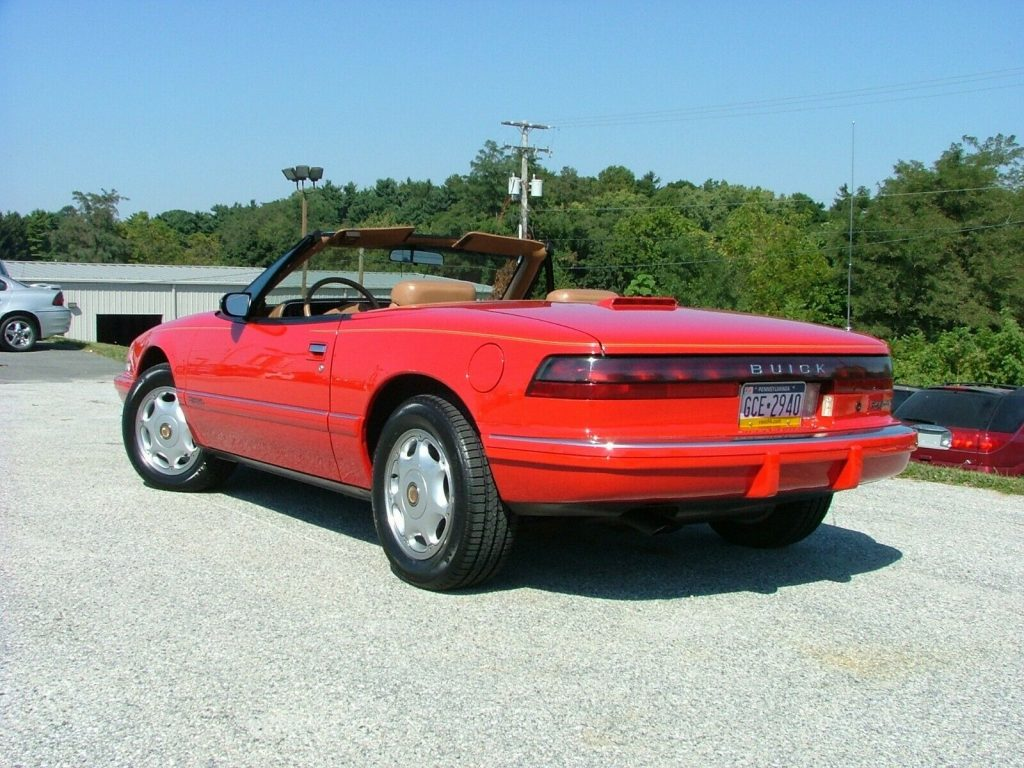 low miles 1990 Buick Reatta Convertible