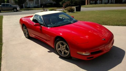low miles 2000 Chevrolet Corvette Convertible for sale