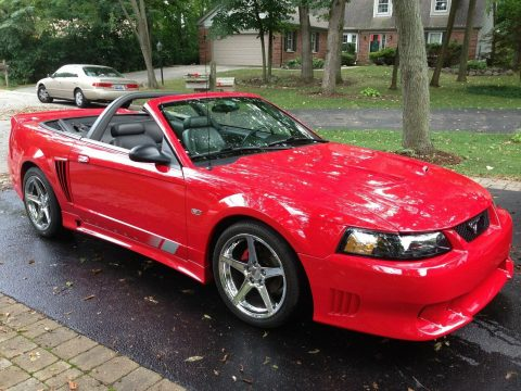 low miles 2002 Ford Mustang Saleen convertible for sale