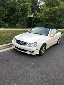 no issues 2006 Mercedes Benz CLK 350 convertible for sale
