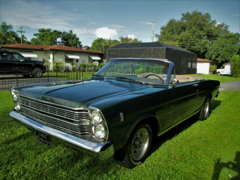 restored 1966 Ford Galaxie 500 CONVERTIBLE for sale