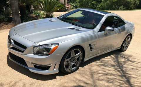very low miles 2016 Mercedes Benz SL Class AMG ROADSTER convertible for sale