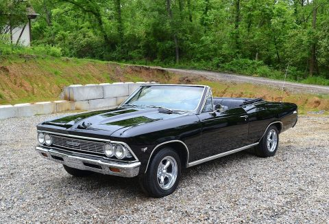 very nice 1966 Chevrolet Chevelle Malibu Convertible for sale