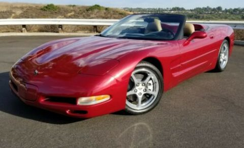 very nice 2000 Chevrolet Corvette convertible for sale