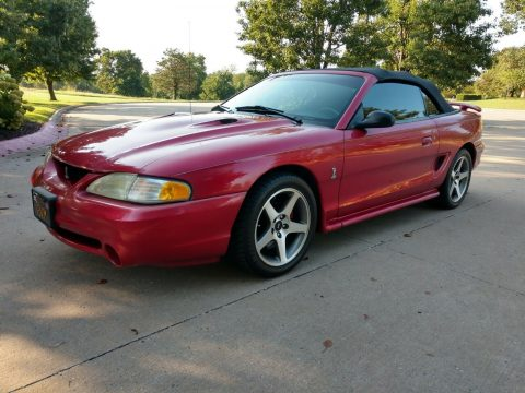 Well Maintained 1996 Ford Mustang SVT Cobra Convertible for sale