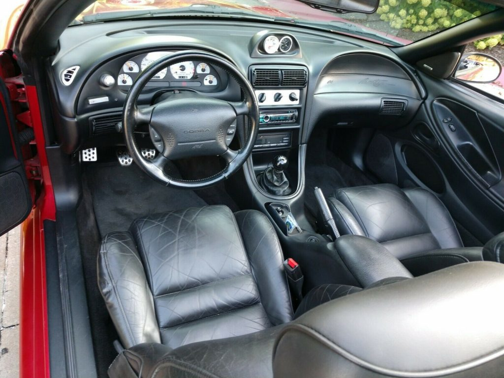 Well Maintained 1996 Ford Mustang SVT Cobra Convertible