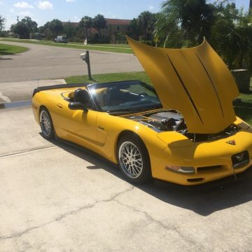 well maintained 2000 Chevrolet Corvette Z51 convertible for sale