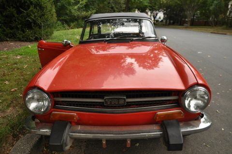 well serviced 1974 Triumph TR 6 convertible for sale