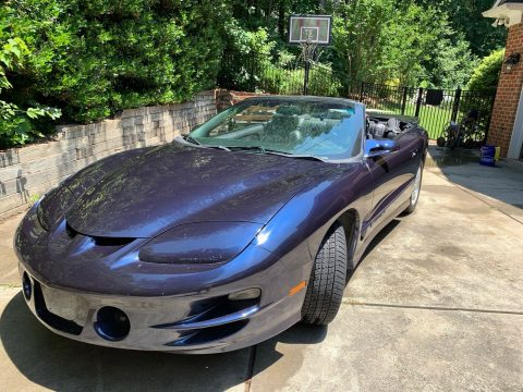 well serviced 2000 Pontiac Trans Am Convertible for sale