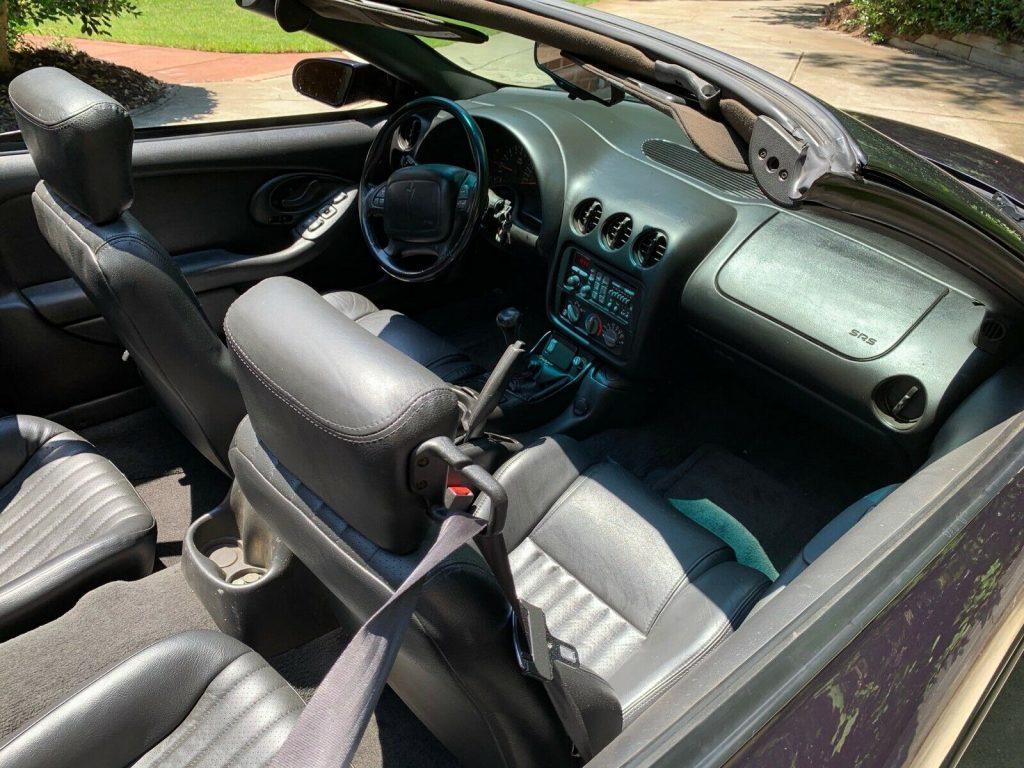 well serviced 2000 Pontiac Trans Am Convertible
