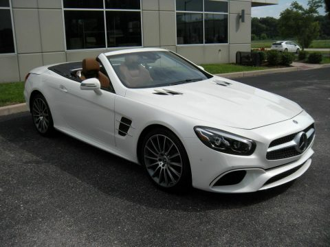 almost no mileage 2019 Mercedes Benz SL Class SL550 convertible for sale