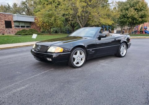 classic 1997 Mercedes Benz SL Class convertible for sale